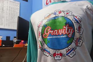 Desain Baju Komunitas yang Unik