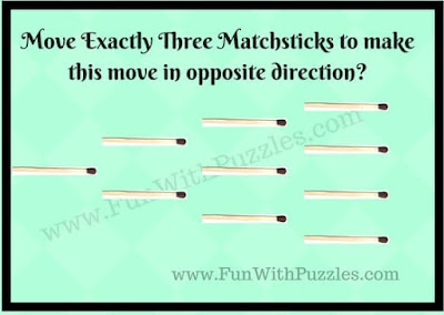 Matchstick Brain Teasing Puzzle