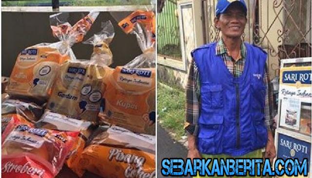 Tiga Hari Dagangan Tak Laku , Penjual Roti Keliling Ini Mendapat Rezeki Nomplok