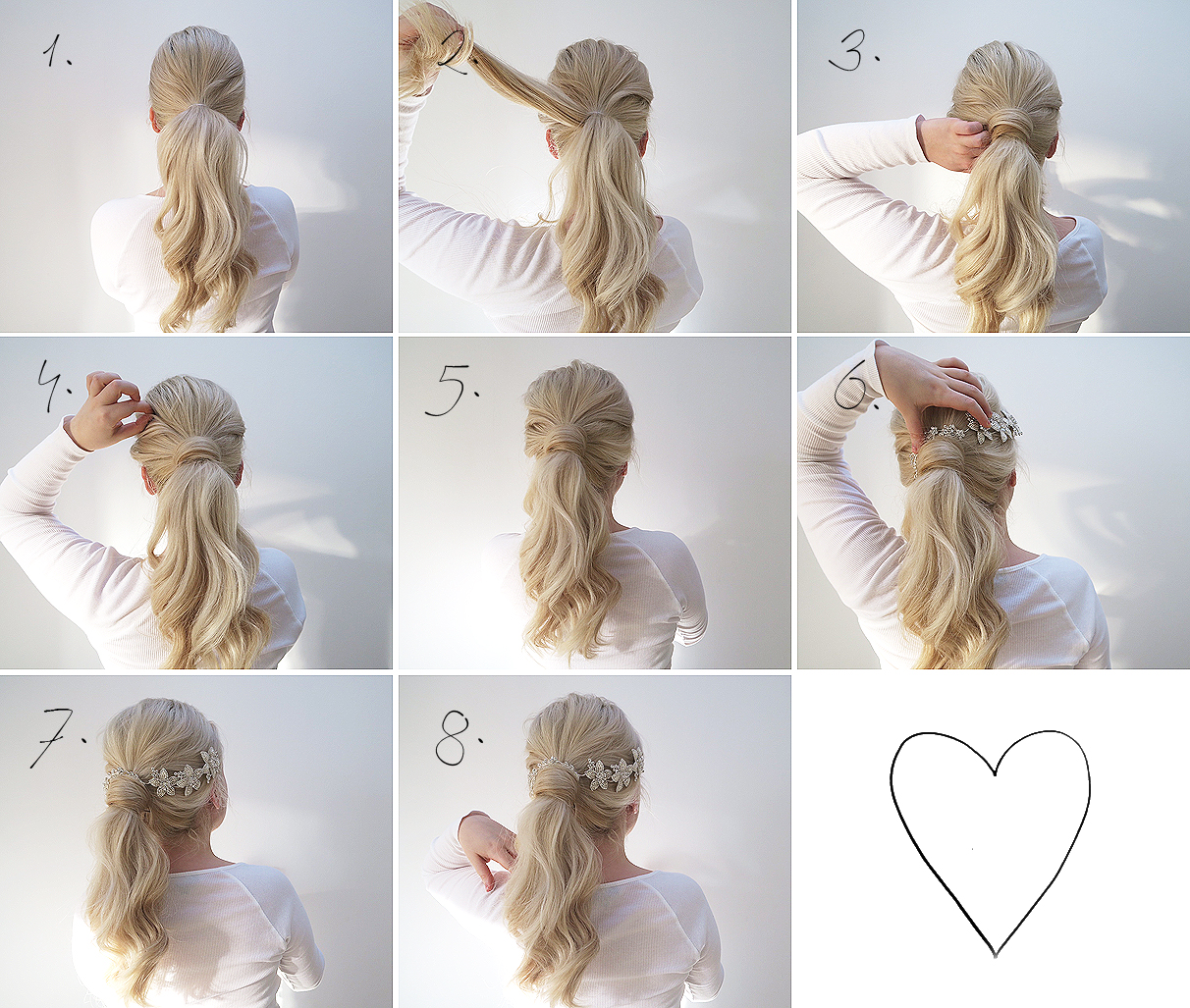 Two simple hair tutorials | Perfect for a wedding | Grace and Braver ...