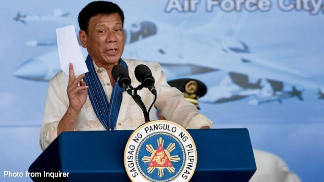 We need more armed civilians- President Duterte