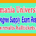 Osmania University OU Degree Supply 1st 2nd 3rd Year Exam Results 2018