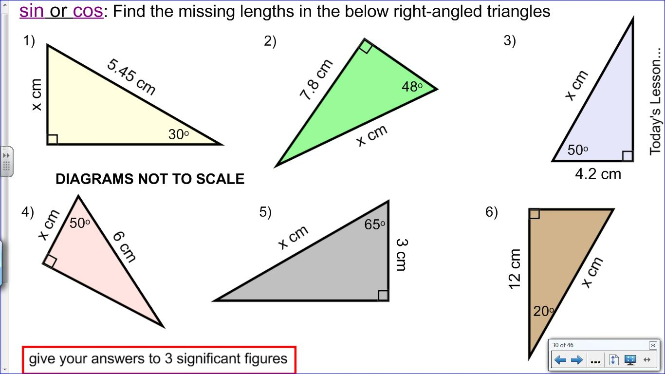 Mr Collins Mathematics Blog Teaching Trigonometry
