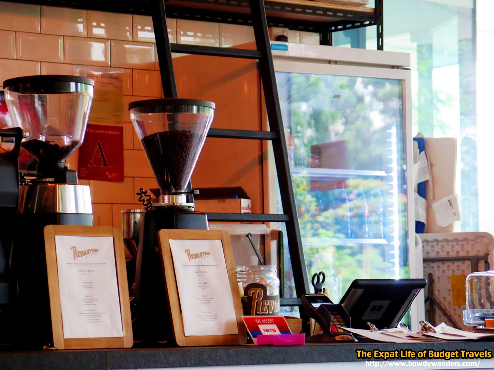 bowdywanders.com Singapore Travel Blog Philippines Photo :: Singapore :: Revolution Coffee, Media Circle