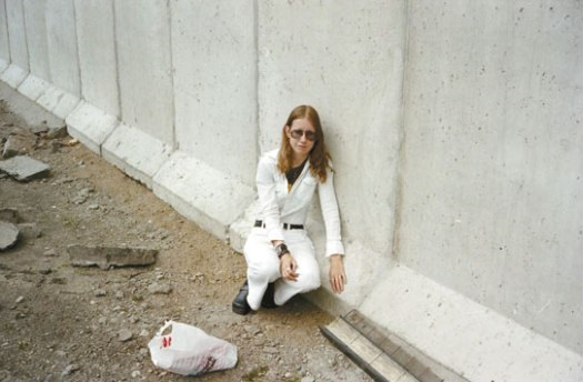 Swedish woman Eija-Riitta Berliner-Mauer fell in love with the Wall when she first saw it on television in her childhood, and would go on to amass a collection of photographs of the Wall over the years.