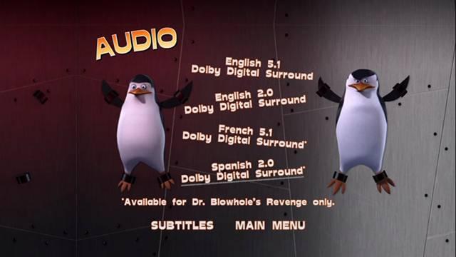 Los Pinguinos de Madagascar Operacion Blowhole 2012 DVDR