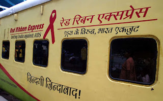 Red Ribbon Express Indian Railways World AIDS Day