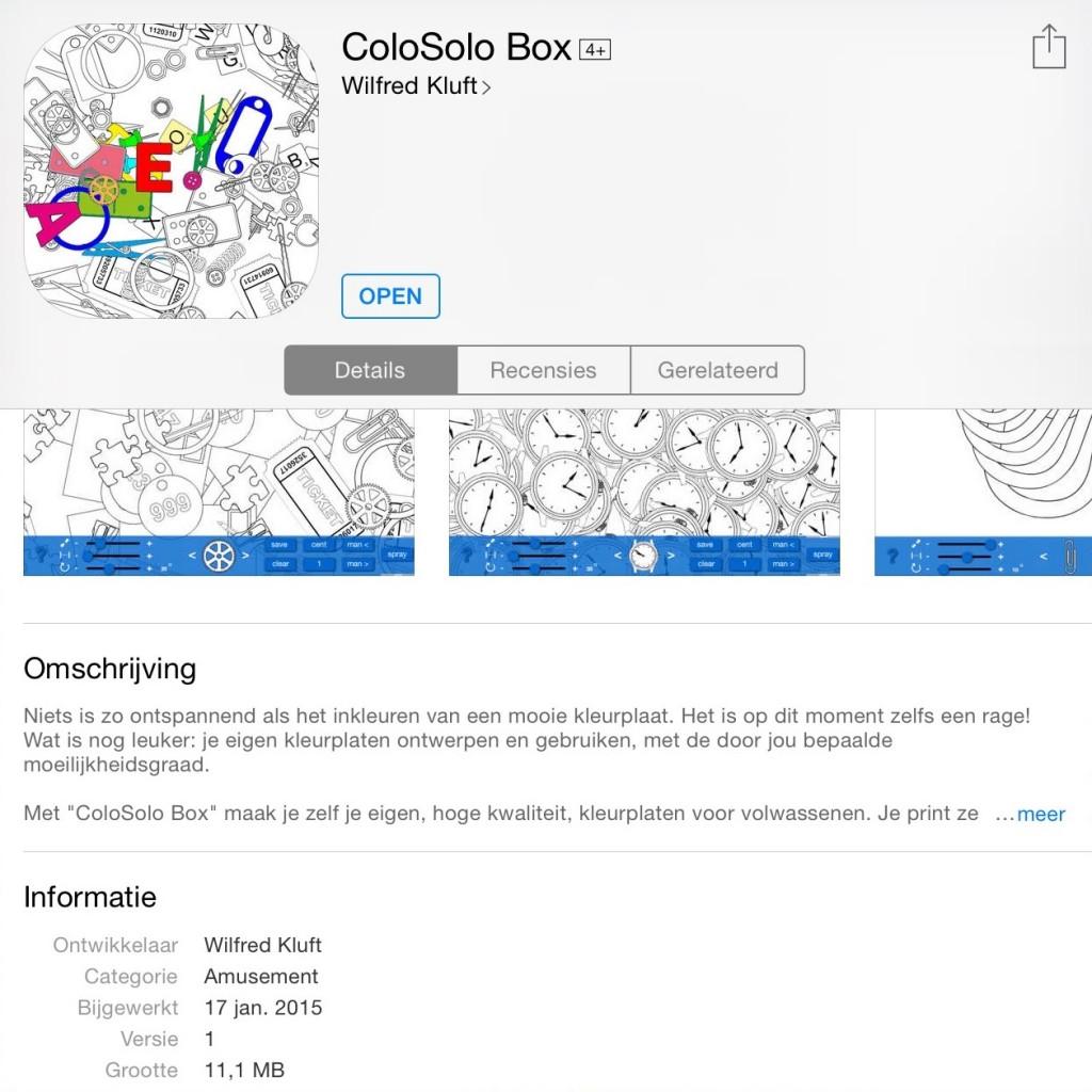 Kleurplaten Inkleuren Op Ipad.Perfectsweetcolors Ontwerp Je Eigen Kleurplaten Met De Colosolo App