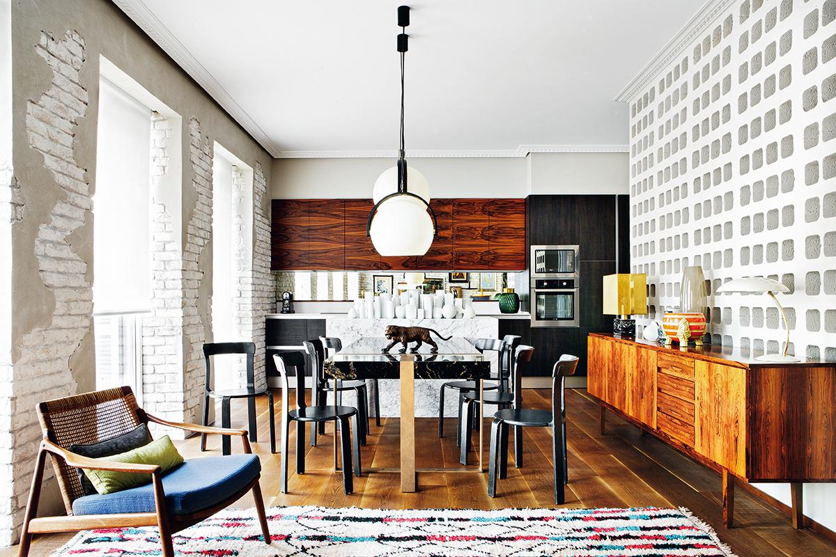 design attractor: Wonderful Mid Century Modern Apartment ...