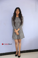 Actress Chandini Chowdary Pos in Short Dress at Howrah Bridge Movie Press Meet  0005.JPG