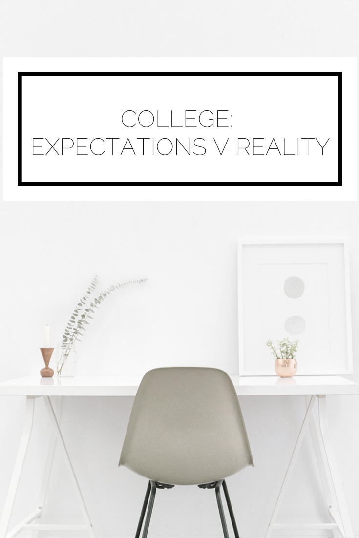 Click to read now or pin to save for later! We all have ideas in our heads of how something will be. This is what college is actually like