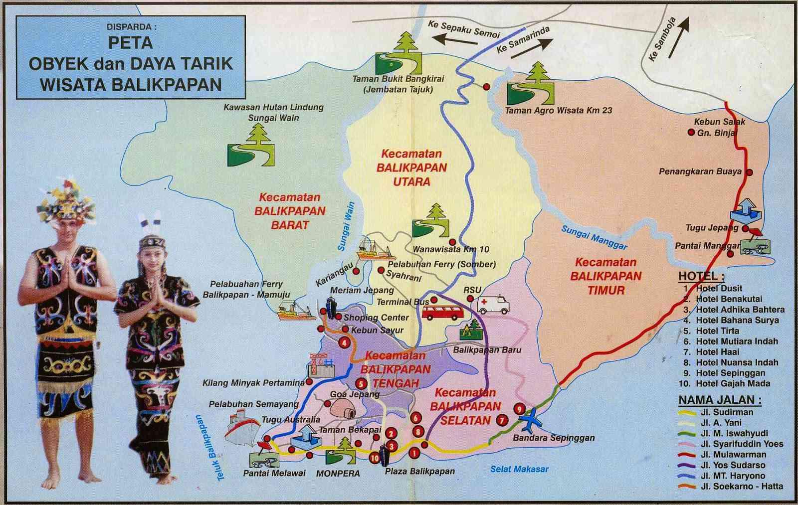 Daftar Tour & Travel Agent Di Balikpapan