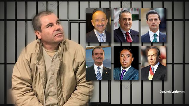 """E.U promete reducir condena de """"El Chapo"""", si revela los nombres de políticos vinculados al narco."""