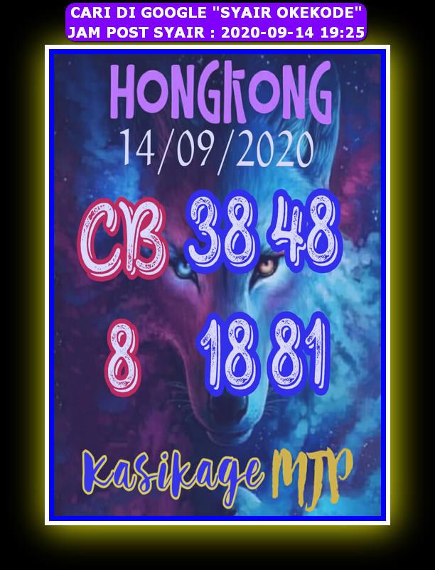 Kode syair Hongkong Senin 14 September 2020 30