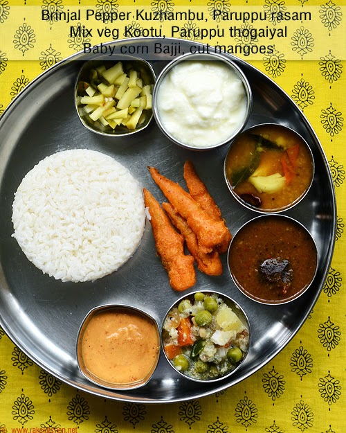 South indian lunch ideas lunch menu 54 raks kitchen brinjal pepper kuzhambu is one of my most favorite among the brinjal recipes when my mom makes this one both me and my bro used to have it twice forumfinder Images