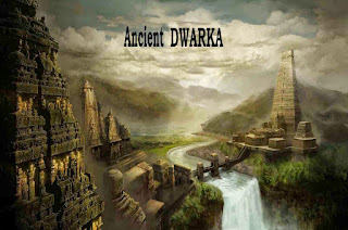 Dwarka the ancient city thought to be Atlantis.