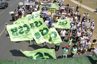 Marcha das centrais será no dia 24 de maio