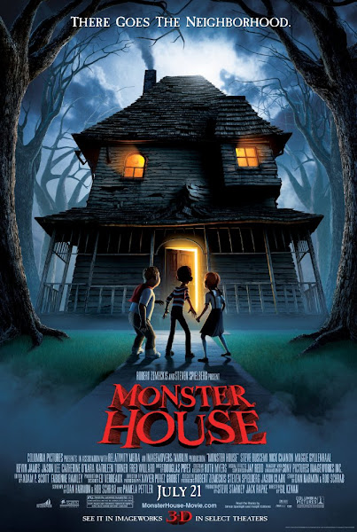 Poster Of Monster House 2006 720p Hindi BRRip Dual Audio Full Movie Download