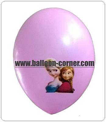Balon Latex Printing Motif KARAKTER