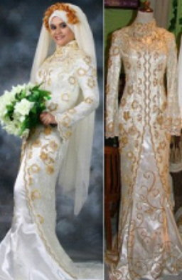 Singgampang Blog Baju Pengantin Kebaya Termewah Muslim