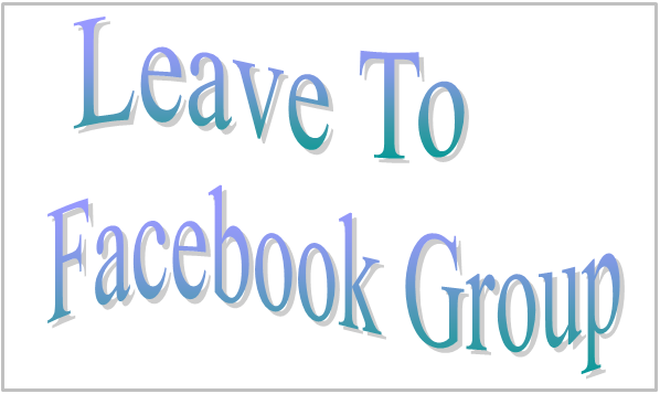Leave To Facebook Group