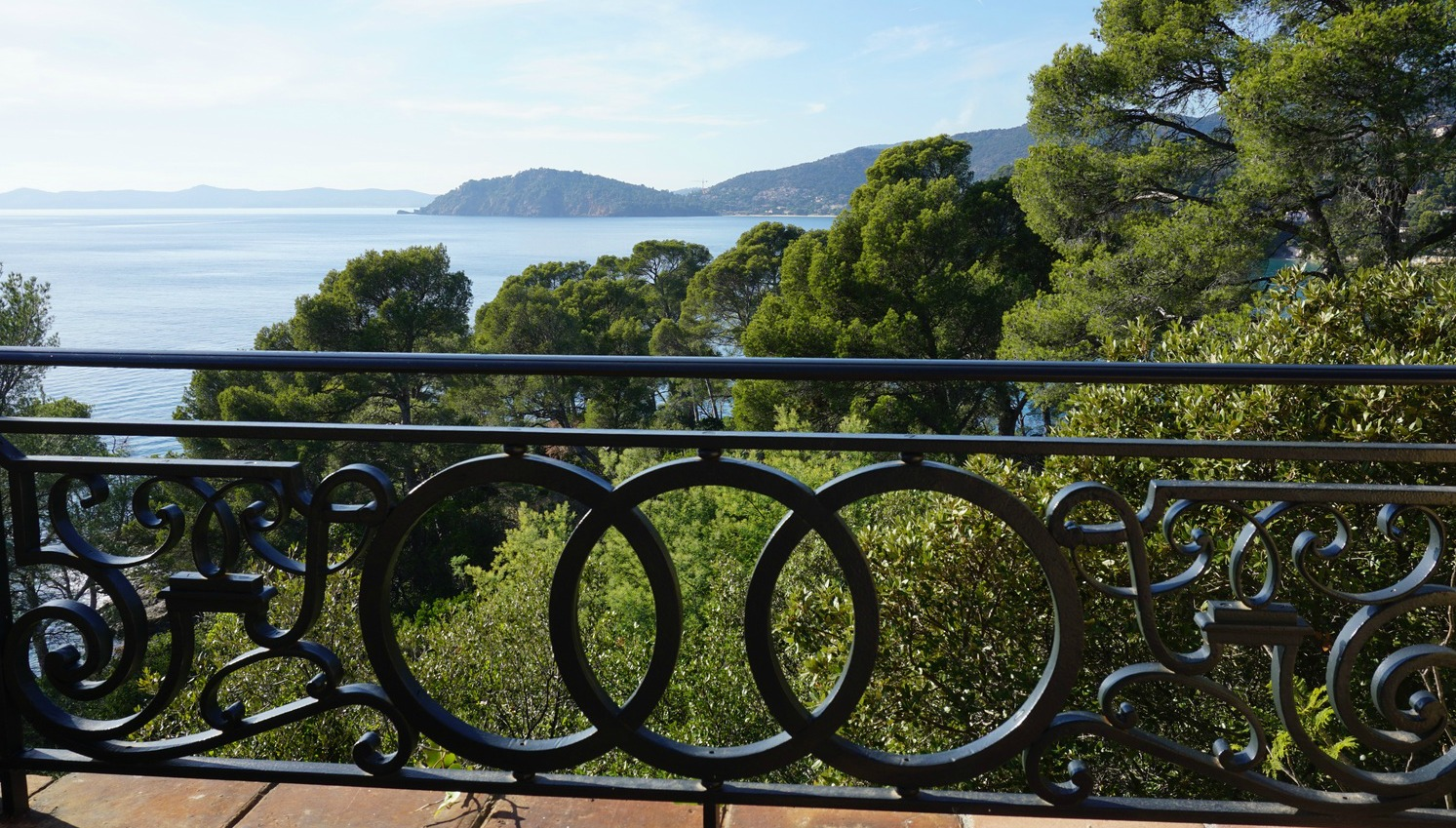 View from Villa le Rayolet