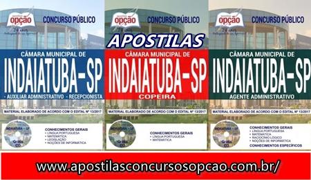 Apostila Câmara de Indaiatuba 2017-2018
