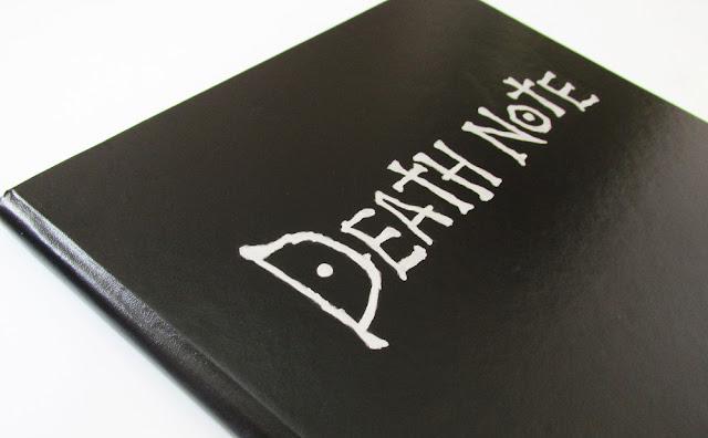 DIY: Como Fazer Caderno Death Note