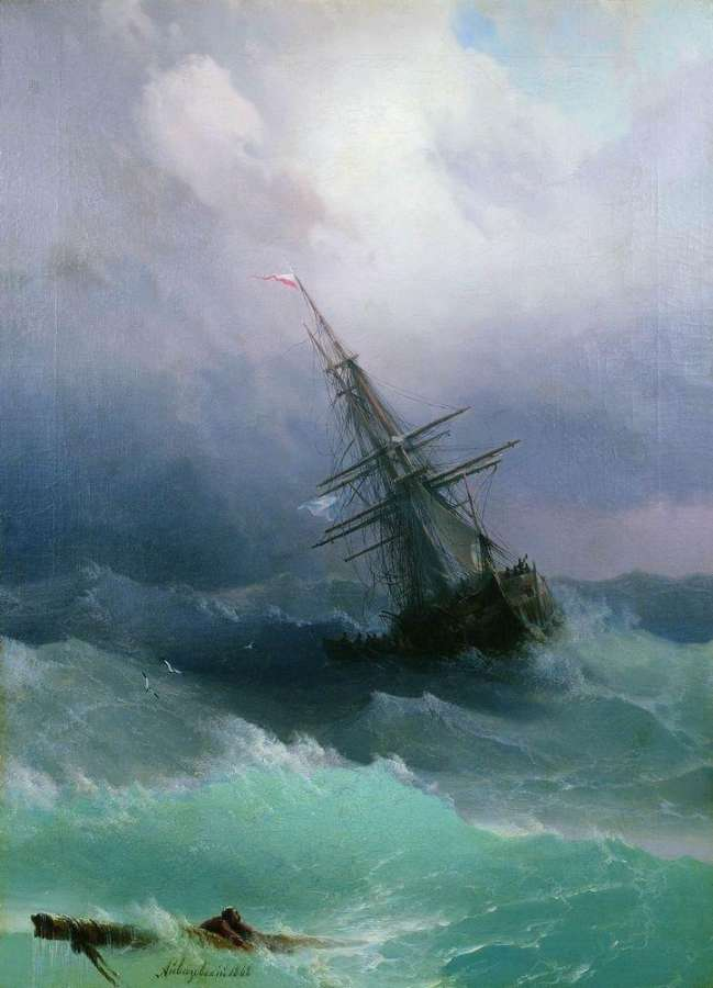 07-Storm-1868-Ivan-K-Aivazovsky-Иван-К-Айвазовский-Paintings-of-the-Sea-from-1840-to-1900-www-designstack-co