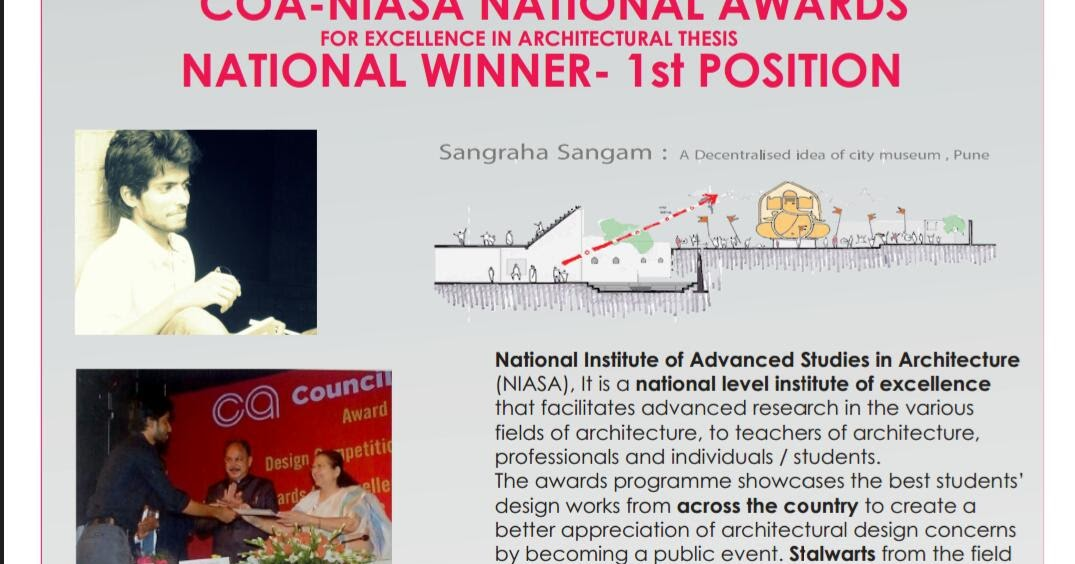 niasa thesis awards 2015