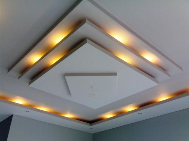 model plafon ruang tamu