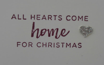 Stampin' Up! UK Independent  Demonstrator Susan Simpson, Craftyduckydoodah!, Hearts Come Home, December 2017 Coffee & Cards Project, Supplies available 24/7 from my online store,