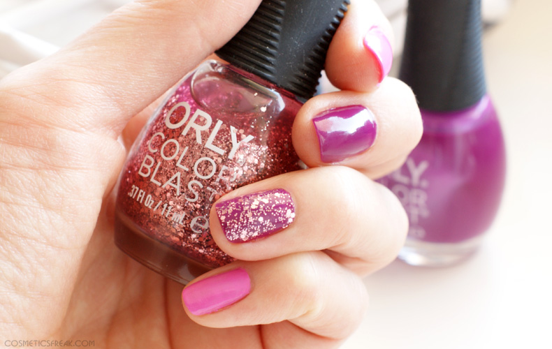 orly color blast glitter