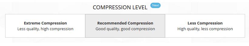 Compress level