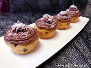 Muffin con cocco e cioccolato (senza burro)