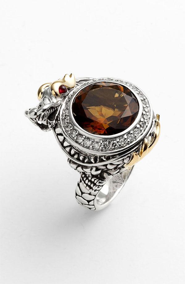 John Hardy Naga Batu Dragon Ring Fairyblingmother