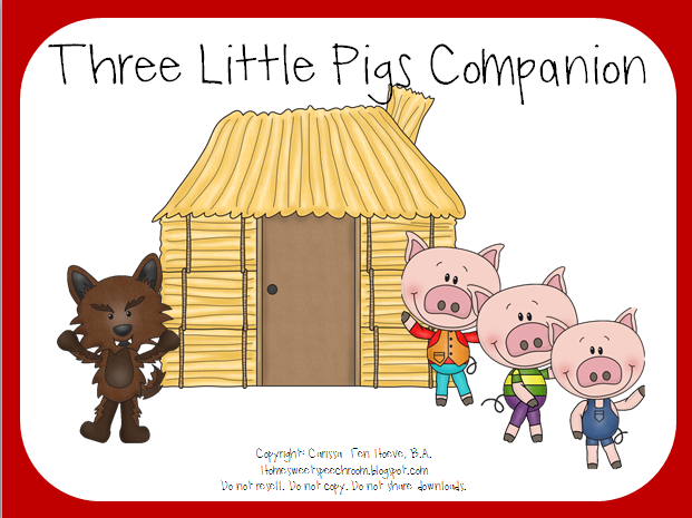 Plot Structure Diagram Three Little Pigs.The Three Little Pigs Storybook Companion Can T Find