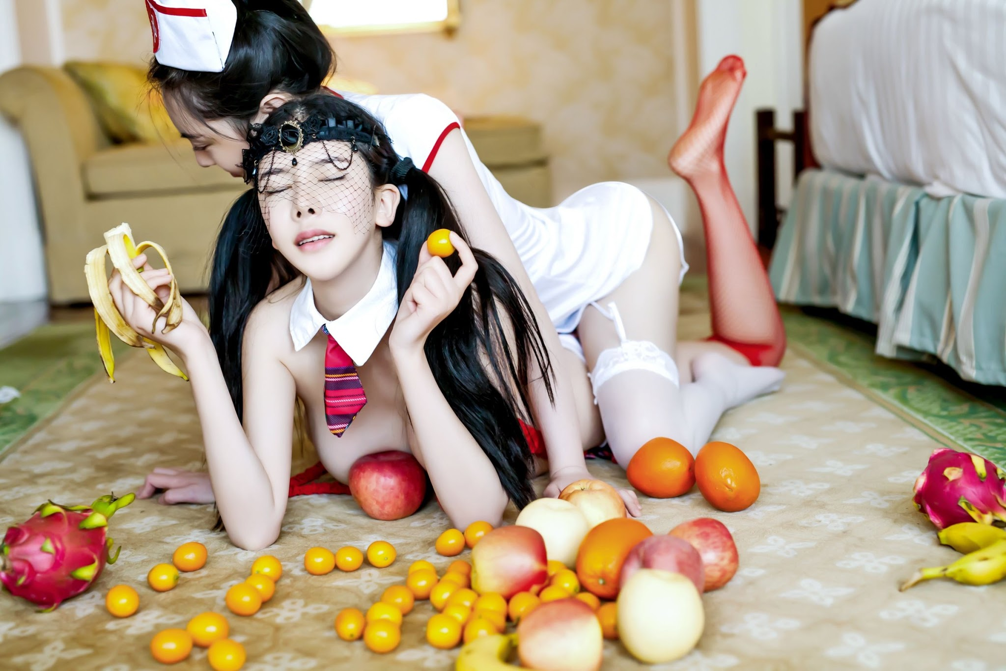Lisha Li 李丽莎 Tuigirl  Custom Gallery   Cosplay Nurses
