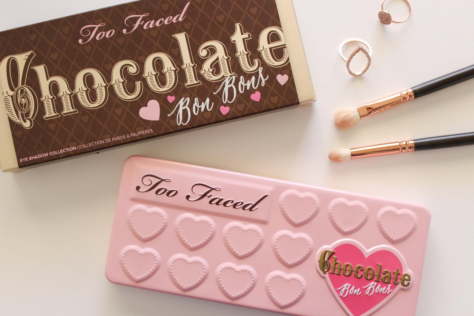 Too Faced Chocolate Bon Bons Palette With Swatches | Cate Renée