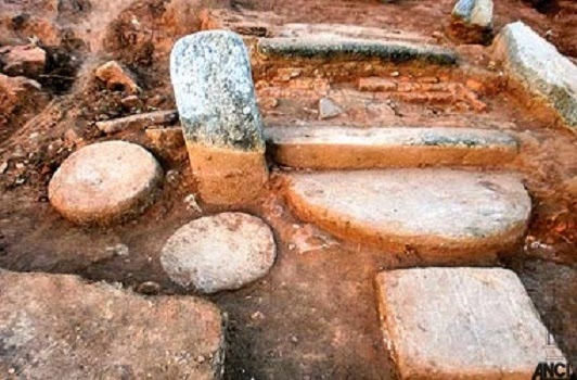 Ancient Buddhist Monastery unearthed in Sri Lanka