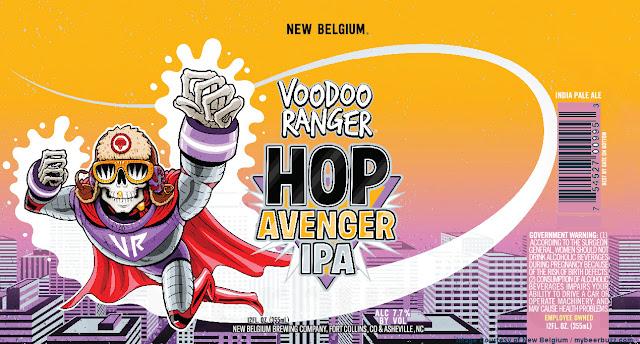 New Belgium Adding VooDoo Ranger Starship IPA & VooDoo Hop Avenger IPA