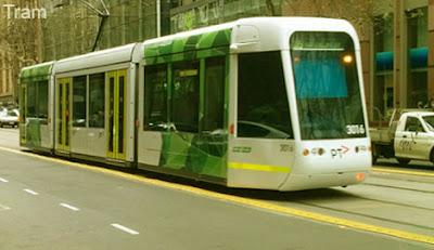 Tram, tramcar, streetcar, trolley