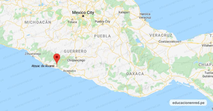 Temblor en México de Magnitud 4.1 (Hoy Sábado 10 Agosto 2019) Sismo - Epicentro - Atoyac de Álvarez - Guerrero - GRO. - SSN - www.ssn.unam.mx