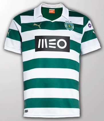24815dce4 Sporting 13-14 (2013-14) Home and Away Kits Released - Footy Headlines