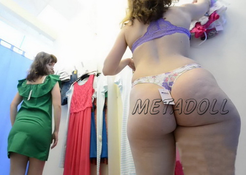 SpyCam 2191-2205 (Clothing Store Changing Room. Beautiful girls changing dress recorded by hidden camera)