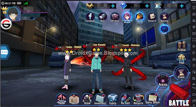 Download Game Android Tokyo Ghoul Dark War English Version