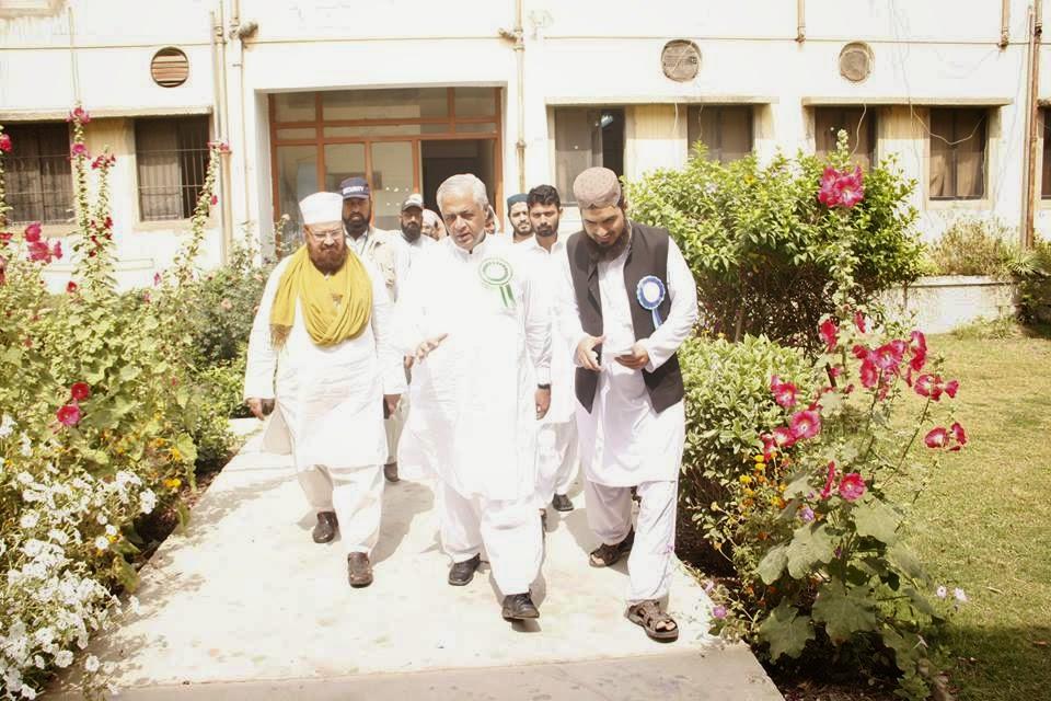 innaugration ceremony karachi allama kokab noorani okarvi