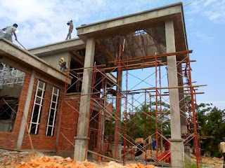 Bina rumah atas tanah sendiri Tunjung Kelantan