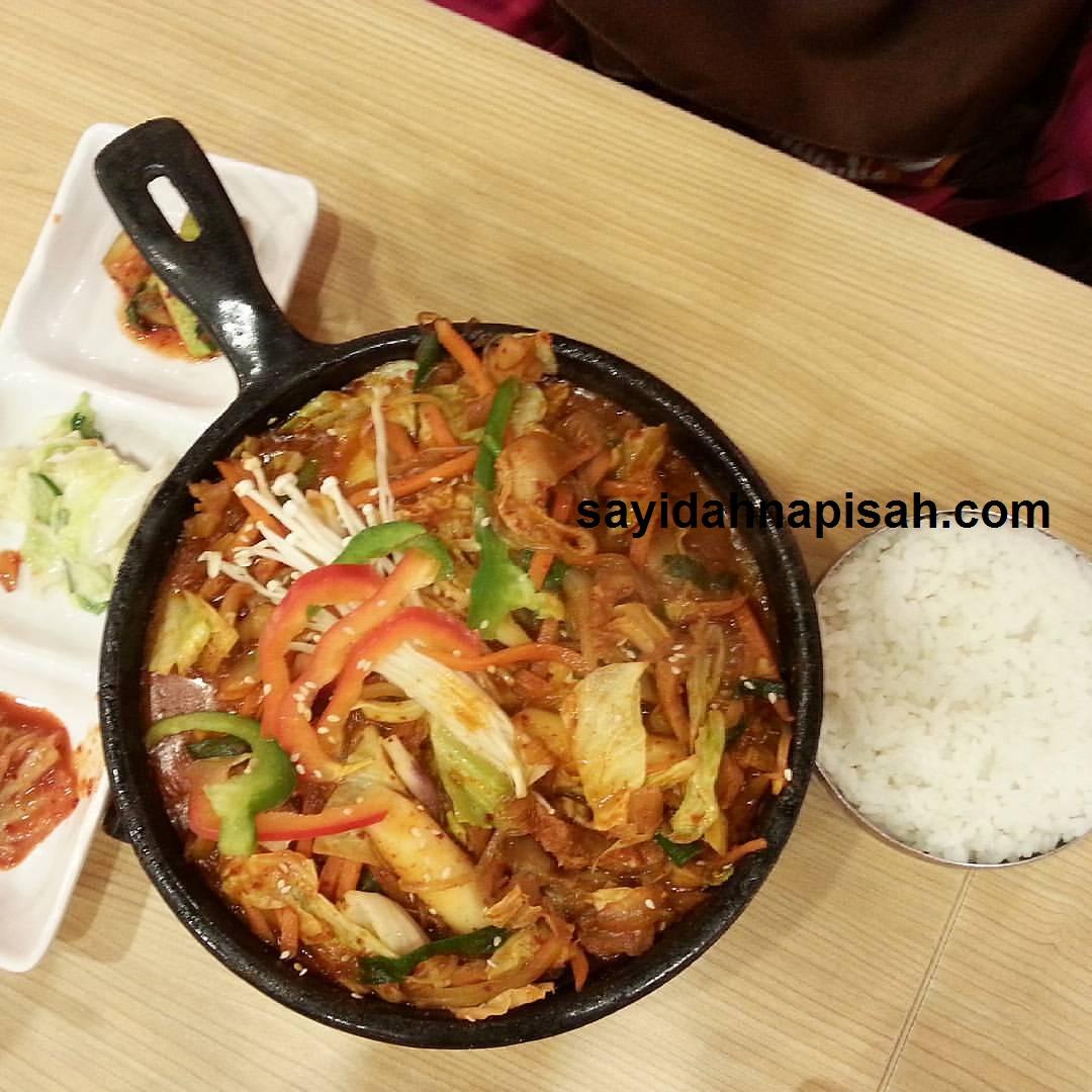 menu dakgalbi di Sopoong IOI City Mall Terbaikkk~!