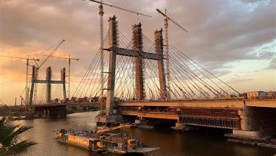 مصر تقدم طلبا رسميا إلى جينيس لتسجيل محور روض الفرج أعرض جسر بالعالم